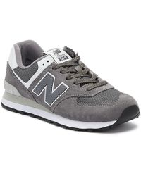 New Balance - 574 Mens Gray Sneakers - Lyst