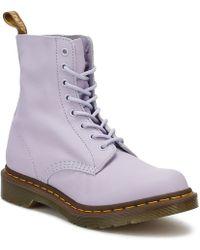 Dr. Martens - Dr. Martens Womens Purple Heather Pascal Boots - Lyst
