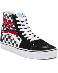 821f6f690b6856 Lyst - Vans Sk8-hi David Bowie Diamond Dogs in Black for Men