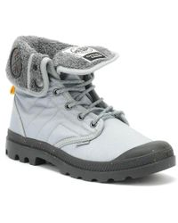 Palladium - Christopher Raeburn Baggy Safety Pack Grey Boots - Lyst
