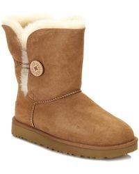 UGG Bailey Button Ii Chestnut Twinface Boot