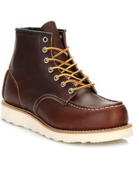 Red Wing - Mens Briar Oil Slick 6-inch Moc Toe Boots - Lyst