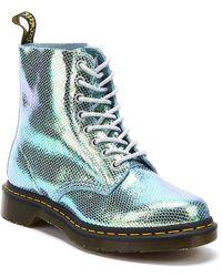 Dr. Martens - 1460 Iridescent Pascal 8-eye Boots - Lyst
