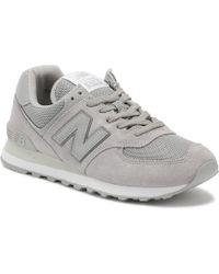 481a643b7a3742 New Balance - Mens Rain Cloud Grey 574 Classic Trainers - Lyst