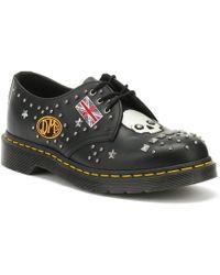 Dr. Martens - Dr. Martens 1461 Rockabilly Black Shoes - Lyst