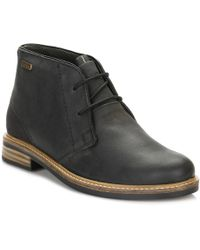 Barbour - Mens Black Readhead Boots - Lyst