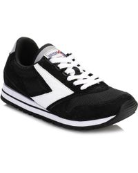 Brooks - Mens Jet Black/white Chariot Trainers - Lyst