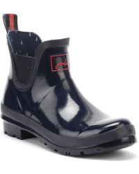 Joules - Womens French Navy Wellibob Wellies - Lyst