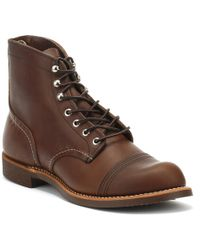 Red Wing - Iron Ranger Brown Amber Mens Boots - Lyst
