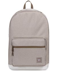 Herschel Supply Co. - Light Khaki Crosshatch Pop Quiz Backpack - Lyst