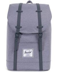 423c03b379 Lyst - Herschel Supply Co. Harrison (raven Crosshatch) Backpack Bags ...