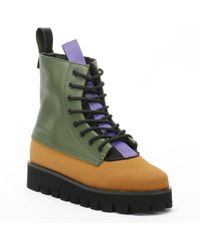 Clear Weather - Wampa Sport Badlands Green Boots - Lyst