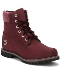 Timberland - Womens Jewels Pack Red Port 6 Inch Boots - Lyst