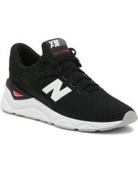 New Balance - Mens X90 Black / White Sport Trainers - Lyst