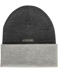 Herschel Supply Co. - Rosewell Heather Charcoal Beanie - Lyst