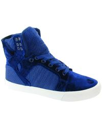 Supra - Womens Skytop Trainers - Lyst