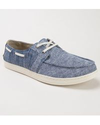 TOMS - Culver 10011631 Navy Chambray Mix Shoes - Lyst