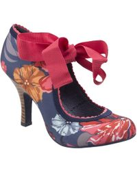 Ruby Shoo - Ruby Shoo Willow Aqua Shoes - Lyst
