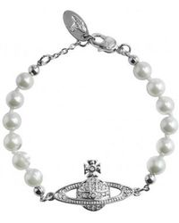 Vivienne Westwood - Mini Bas Relief Bracelet - Lyst