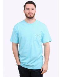 Patagonia - P-6 Logo Cotton Pocket T-shirt - Lyst