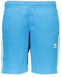 e90d1dd20f adidas Originals Cali Swim Short in Pink for Men - Lyst