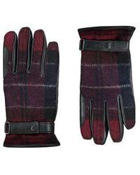 Barbour - Newbrough Tartan Glove - Lyst