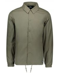 659ce03e Dickies Torrance Coach Jacket Sand Camo in Natural for Men - Lyst