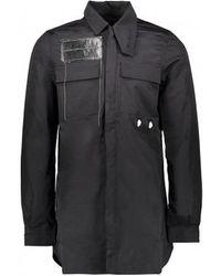 Rick Owens Drkshdw - Filed Shirt - Lyst