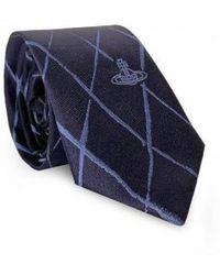 Vivienne Westwood - Cross Check Pattern Tie - Lyst