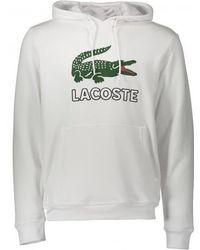 Lacoste - Large Logo Hoody - Lyst