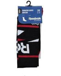 Reebok - Vector Graphic Socks - Lyst