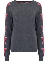 Cocoa Cashmere - Cashmere Star Sleeve Jumper - Lyst