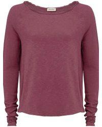 American Vintage - Sonoma Sweatshirt In Fig - Lyst