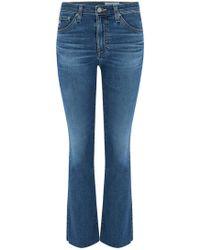 AG Jeans - Jodi Crop Jean In 10 Years Cambria - Lyst