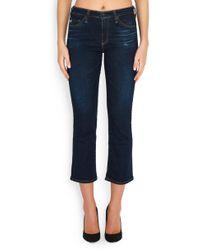AG Jeans - Jodi Crop In 2 Years Beginning - Lyst