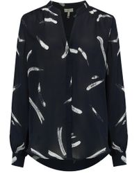 Joie - Mintee Blouse In Midnight - Lyst