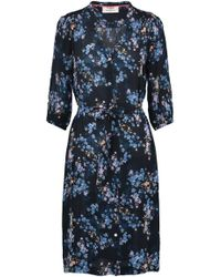 Pyrus - Frankie Dress In Black Valencia Floral - Lyst