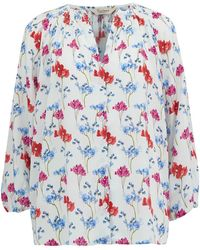 Tucker - Classic Blouse In English Garden Floral - Lyst