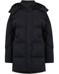 Woolrich - Aurora Puffy Coat In Black - Lyst