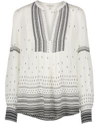 Joie - Abhirati Blouse In Porcelain - Lyst