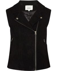 Trilogy - Harley Gilet In Black - Lyst