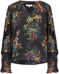 Parker - Trinity Blouse In Black Alexia - Lyst