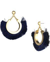 Trina Turk - Golden State Fringe Earring - Lyst
