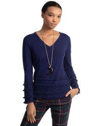 Trina Turk - Sass Sweater Top - Lyst