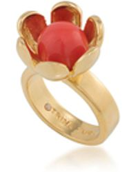 Trina Turk - Wildflower Flower Ring - Lyst