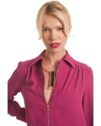 Trina Turk - Sunset Drop Pendant Necklace - Lyst