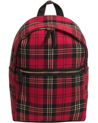 Mr Turk - Holiday Plaid Backpack - Lyst