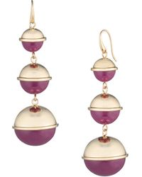 Trina Turk - Destination Groove Graduated Drop Earring - Lyst