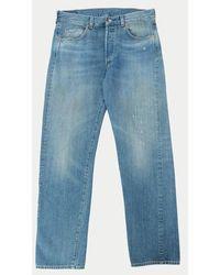 Levi's 1966 501 Jeans Greystone - Blu