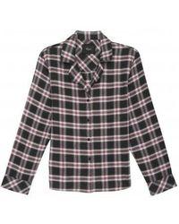 Rails - Conjunto de pijama de manga larga en color carbón baya - Lyst